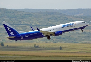 AERONAVE DE BLUE AIR