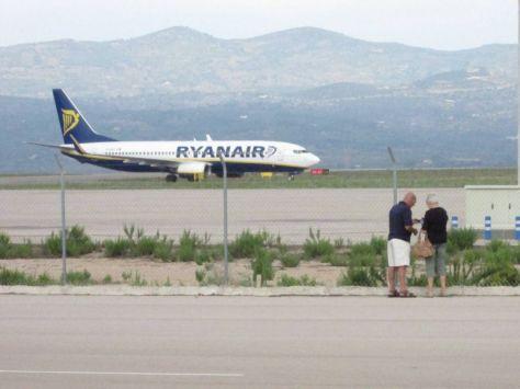 Rynair en Aeropuerto Castellón