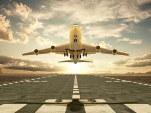 Avion despegando de Castellón