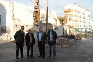 Demolición Antiguo Ayuntamiento Oropesa