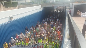 Manifestación Oropesa Verano 2015