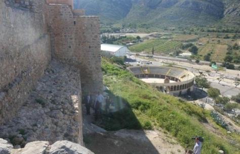 Plaza de Toros desde el Castillo