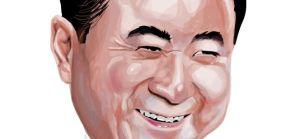 Caricatura Wang Jianlin
